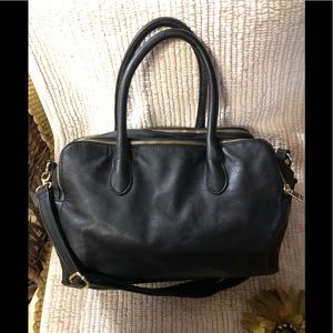 Forever21- Black Faux Leather Handbag
